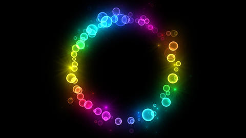 Neon LED Dot11 Fa1 HD Stock Video Footage
