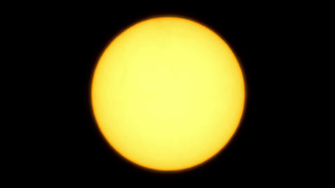 Solar eclipse for a background 01.08.08. TimeLapse Stock Video Footage