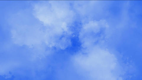 clouds slowly flying in sky Stock Video Footage