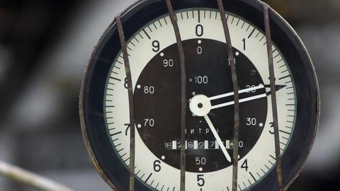 Fuel meter 2 Stock Video Footage