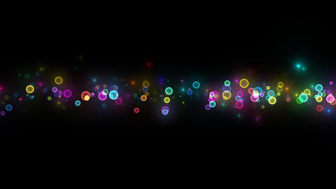 Neon LED Dot11 Ea2b HD Stock Video Footage