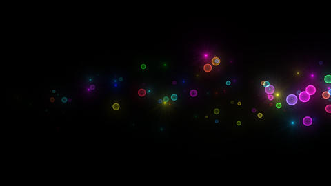 Neon LED Dot11 Eb2a HD Stock Video Footage