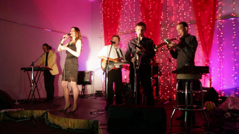 UFA, RUSSIA - DECEMBER 25, 2010: Christmas concert Live Action