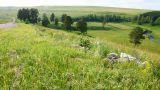 hills summer landscape in Russia Ural Footage