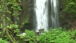 Oirase Gorge Kumoi Falls Footage