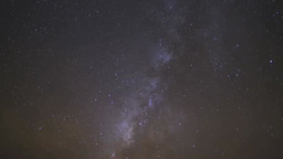 The Milky Way In Hawaii stock footage