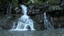 Jinba falls Footage