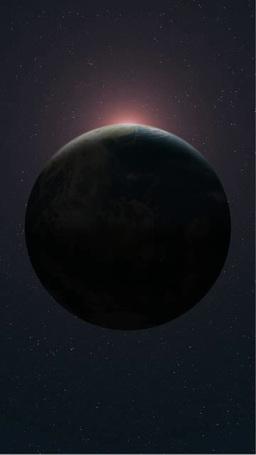 地球全球と現れる太陽 タテ版 Footage