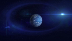 CG of Earth Footage