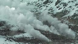 硫黄山 噴煙 Footage