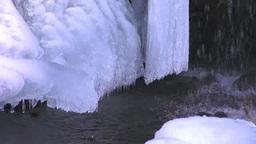 フンベの滝 冬 Footage