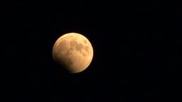 月 皆既月食 Footage