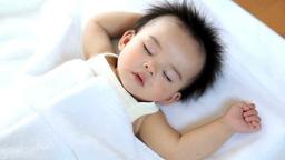 Sleeping baby Footage