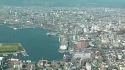函館山から見る函館市街 Footage