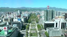 Sapporo ?dori Park Footage
