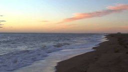 Coast in the morning Footage