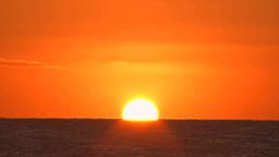 海の日の出 Footage