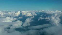 飛行機よりの雲海 Footage