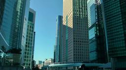 高層ビル街とゆりかもめ Footage