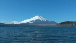 Mt. Fuji and Lake Yamanaka Footage