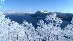 霧氷と摩周湖 Footage