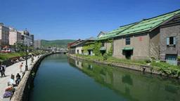 Otaru canal Footage