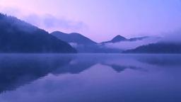 朝霧の然別湖 Footage