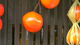 軒下の干し柿 Footage