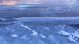 凍結の屈斜路湖 Footage