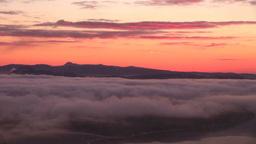 朝の美幌峠から雲海の屈斜路湖と摩周岳 Footage