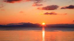 国後島からの日の出 Footage