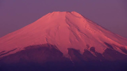 Mt Fuji Sunrise Stock Video Footage