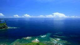 三日月山展望台から望む海 Footage