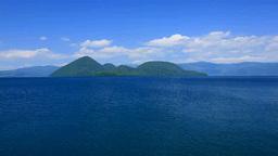 Lake Toyako Stock Video Footage