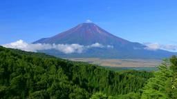 二十曲峠からの富士山 Stock Video Footage