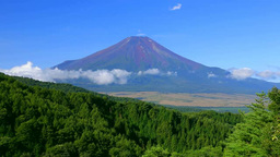 二十曲峠からの富士山 Footage