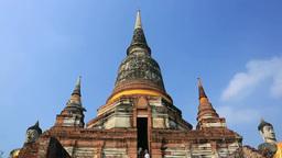 Wat Yai Chaimongkon Stock Video Footage