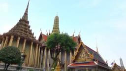 Wat Phra Kaeo Stock Video Footage