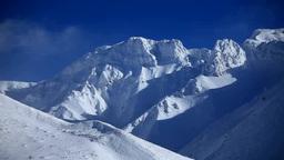 厳冬の上ホロカメットク山 Footage