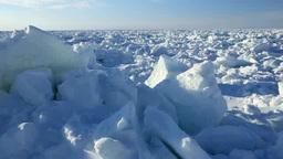 知床西海岸の流氷原 Footage