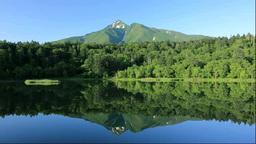 Mount Rishirifuji and Himenuma swamp Footage