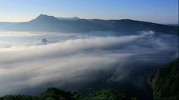 Lake Mashu in fog Footage