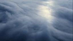 Lake Mashu in fog Stock Video Footage