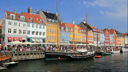 Nyhavn Stock Video Footage