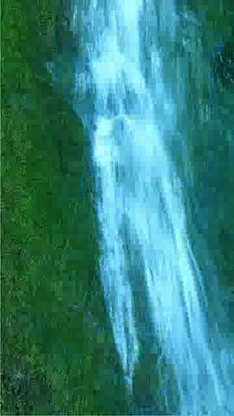 苔むすフンベの滝 Footage