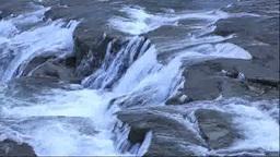 Flow of Hakusen no taki Falls Stock Video Footage