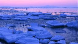 流氷と夜明の国後島 Footage