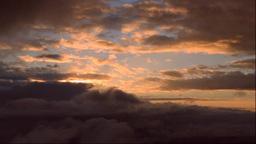 磐梯吾妻スカイラインの朝の雲海 Footage