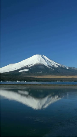 富士山と山中湖 Footage