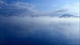 凍る屈斜路湖ともや Stock Video Footage